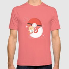 Pokemaster Mens Fitted Tee Pomegranate SMALL