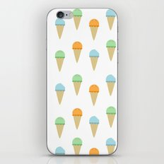 Ice Cream Pattern iPhone & iPod Skin