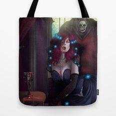Vampire Lady Tote Bag
