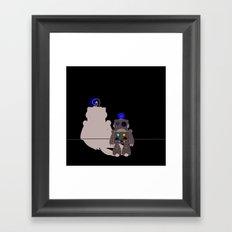 Rust Bot  Framed Art Print