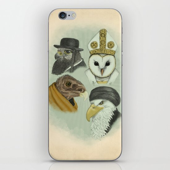 Birds of Pray iPhone & iPod Skin