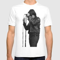Julian Casablancas - The Strokes at Bonnaroo 2011 White SMALL Mens Fitted Tee