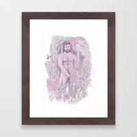 Nudist  Framed Art Print