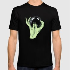 Crystallomancy Mens Fitted Tee Black SMALL