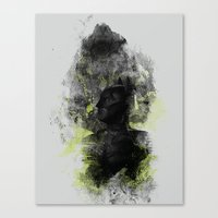 Polar Opposite Canvas Print