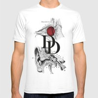 Etude - Daredevil Mens Fitted Tee White SMALL