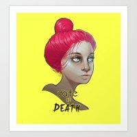Date Or Death Art Print