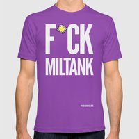 F*ck Miltank Mens Fitted Tee Ultraviolet SMALL