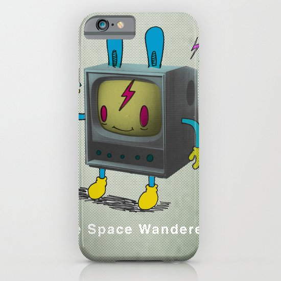 the Space Wanderer iPhone & iPod Case