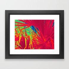 Palm in My World Framed Art Print
