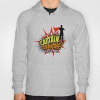 Captain Obvious T-shirt Hoody