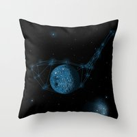 Game of God Throw Pillow