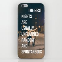 The Best Nights iPhone & iPod Skin