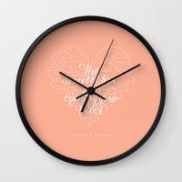 Secret Of Love Wall Clock