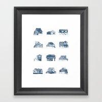 Houses Of Lupus, Missour… Framed Art Print