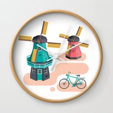 Holland Icon Wall Clock