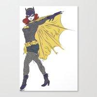 Batgirl [ Alt ] #1 Canvas Print