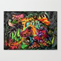 Just another day in the jungle Canvas Print