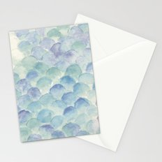 green scales Stationery Cards