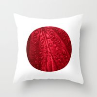 Red Passion I Throw Pillow
