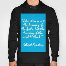 Einstein education quote Hoody