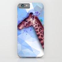 Low Poly Giraffe iPhone 6 Slim Case