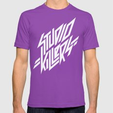 Studio Killers Mens Fitted Tee Ultraviolet SMALL