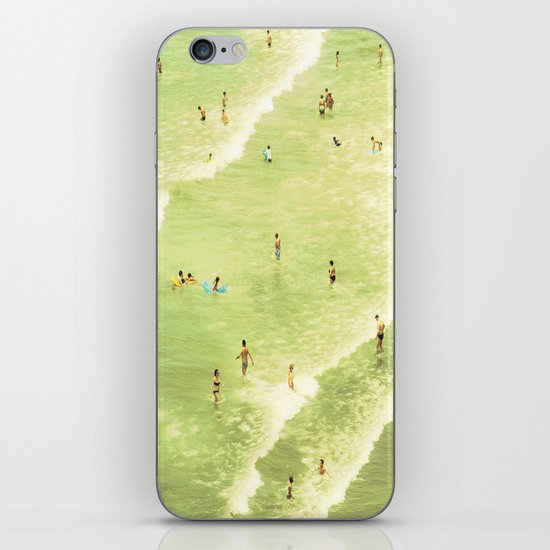 Let's Go Swimming iPhone & iPod Skin