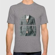 In The Heart, In The Bel… Mens Fitted Tee Tri-Grey SMALL