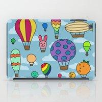 Happy Hot Air Balloons iPad Case