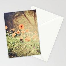 Orange pop Stationery Cards