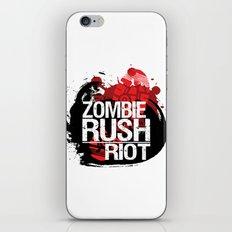 Zombie Rush: Riot iPhone & iPod Skin