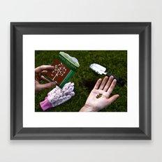 Recession  Framed Art Print