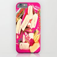 iPhone & iPod Case featuring Mmmm sweets by monjii art