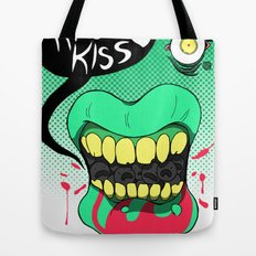 Kiss kiss Tote Bag