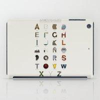 Alfabeto malagueño © iPad Case