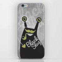 Black Slug iPhone & iPod Skin