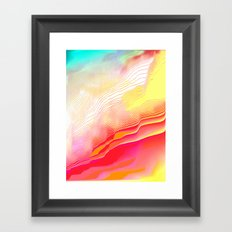 Pool Hallucination Framed Art Print