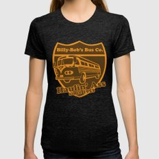 Haulin' A Womens Fitted Tee Tri-Black SMALL