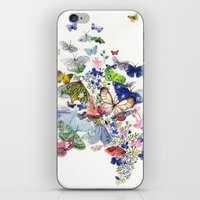 A Flow Of Happiness iPhone & iPod Skin