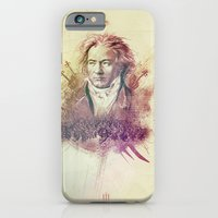 iPhone & iPod Case featuring Beethoven by Rafal Rola