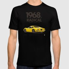 1968 SMALL Mens Fitted Tee Black