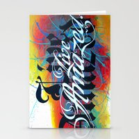 Live Amazed! Stationery Cards