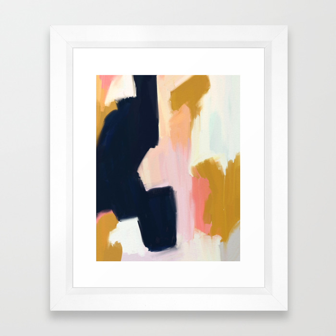abstract framed art prints society6