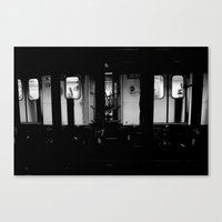 Ridin' Canvas Print