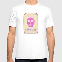 Sugar Skulls Mens Fitted Tee White SMALL