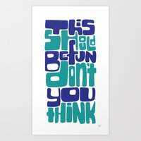 This Should Be Fun... Art Print