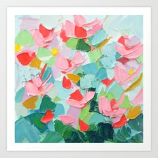 Afterglow Cherry Art Print