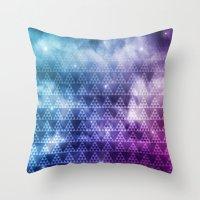 Galaxy Fade Throw Pillow