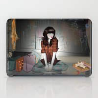 Zooey Deschanel Night iPad Case